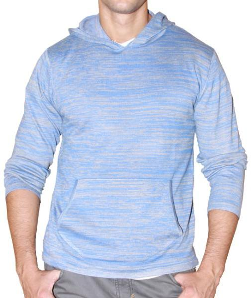 191 Unlimited Men's Blue Heathered Hoodie