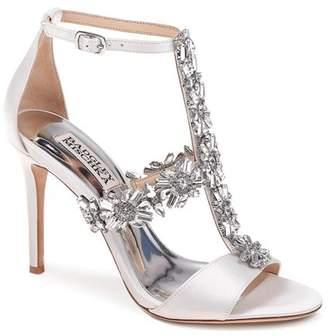 Badgley Mischka Women's Munroe Embellished Satin High-Heel Sandals
