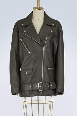 Acne Studios Myrtle leather jacket