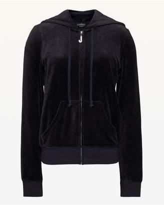 Juicy Couture Swarovski JC Velour Robertson Jacket