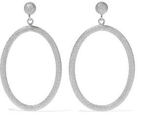 Carolina Bucci Gypsy Large 18-Karat White Gold Hoop Earrings