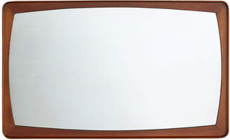 Rejuvenation Modern Kjersgaard-Style Teak Mirror w/ Radius Edge