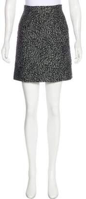 Balenciaga Jacquard Mini Skirt