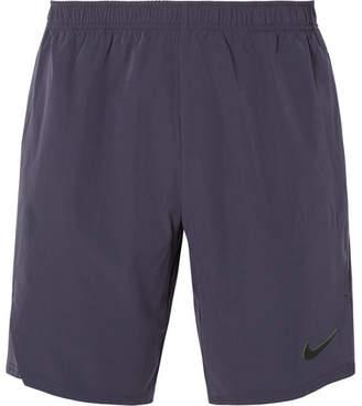Nike Tennis - NikeCourt Flex Ace Dri-FIT Tennis Shorts - Men - Midnight blue