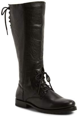 Frye Natalie Knee High Combat Boot (Women)