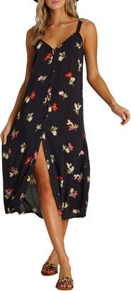Billabong Sweet Edges Midi Dress