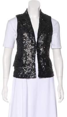 Alice + Olivia Sequin Embellished Vest w/ Tags
