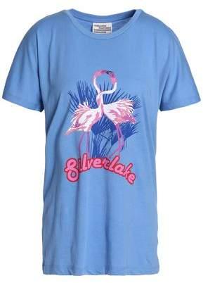 Baum und Pferdgarten Woman Printed Cotton-jersey T-shirt Light Blue Size L