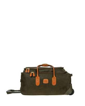 """Bric's Olive Life 21"""" Rolling Duffel Luggage"""