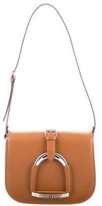 Ralph Lauren Horsebit-Embellished Saddle Bag w/ Tags