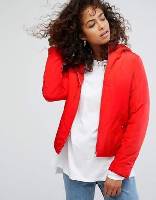 Noisy May Padded Jacket With Hood