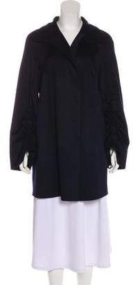Akris Short Cashmere Coat