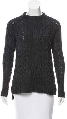 Theory Alpaca Cable Knit Sweater