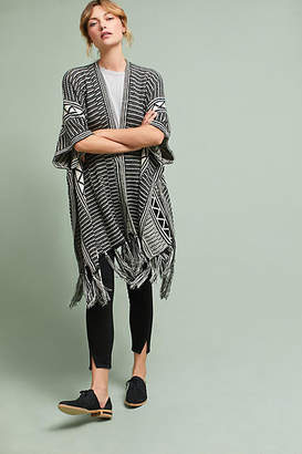 Anthropologie Graphic Stripe Kimono
