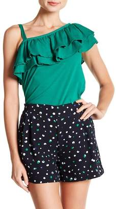 Joe Fresh Ruffle Popover Top