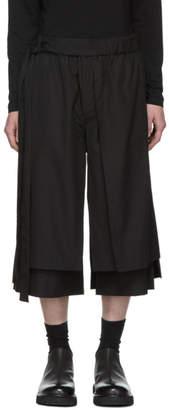 Craig Green Black Layered Shorts