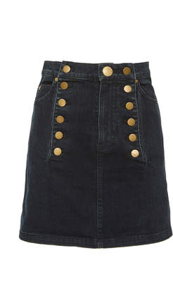 Marissa Webb Rowena Denim Mini Skirt