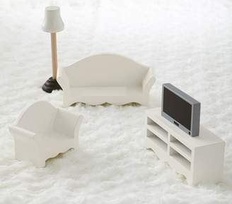 Pottery Barn Kids Dollhouse Living Room Accessory Set