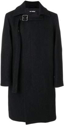 Raf Simons buckled coat