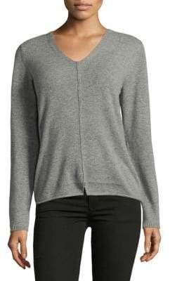 Lafayette 148 New York V-Neck Cashmere Sweater