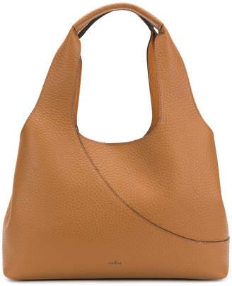 Hogan elongated grained tote bag