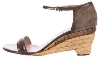 Nina Ricci Espadrille Wedge Sandals w/ Tags