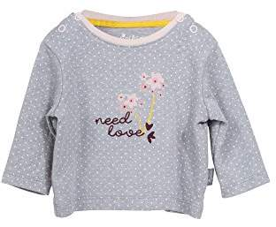 Sigikid Baby Girls' Langarmshirt, New Born Longsleeve T-Shirt