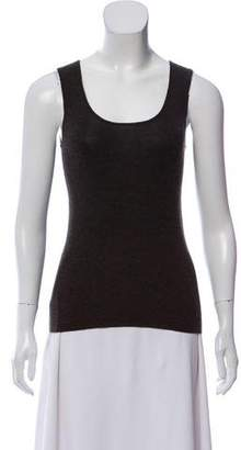 Akris Cashmere & Silk-Blend Sleeveless Top
