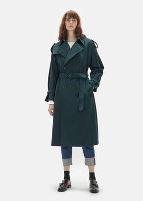 Zucca Voile Karsey Trench Coat Green