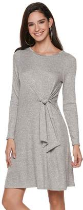 JLO by Jennifer Lopez Women's Knot-Front Dress