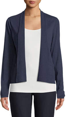 Eileen Fisher Alpaca-Blend Shawl-Collar Cardigan