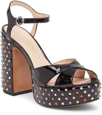 Marc Jacobs Lust Strass Leather Platform