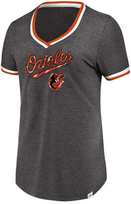 Majestic Women's Baltimore Orioles Driven by Results T-Shirt