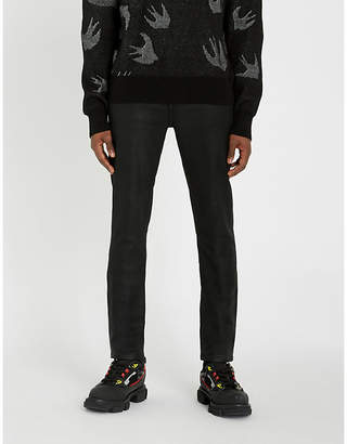 Frame L'Homme waxed skinny jeans