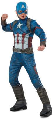 NEW Captain America: Civil War Captain America Premium Costume size 6-8