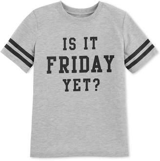 Carter's Big Girls Friday-Print Pajama T-Shirt