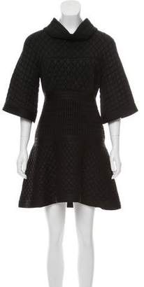 Chanel Metallic Quilted Dress w/ Tags
