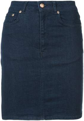 Won Hundred fitted denim skirt