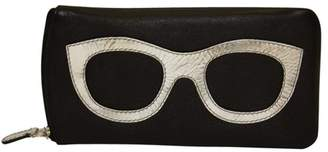 International Leather Industries Leather Eyeglass Case