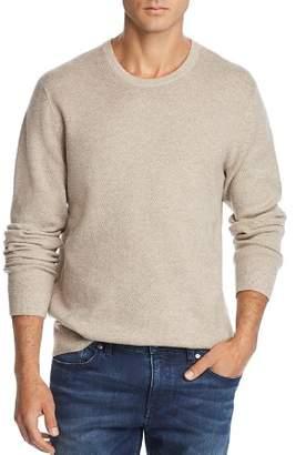 Bloomingdale's The Men's Store at Tonal Variegated Crewneck Sweater - 100% Exclusive