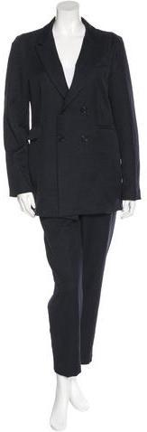 MarniMarni Notch-Lapel Straight-Leg Pantsuit