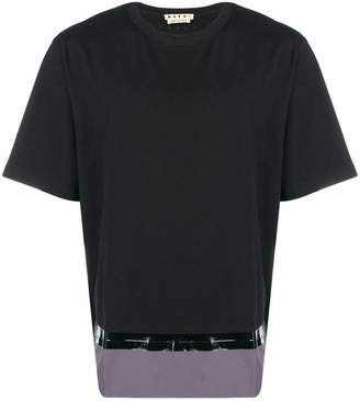 Marni patched hem T-shirt