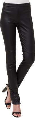 Akris Stretch-Leather Leggings