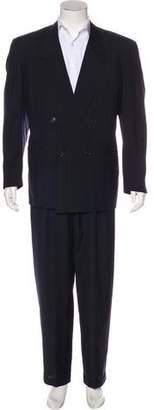 Gianni Versace Striped Wool Suit