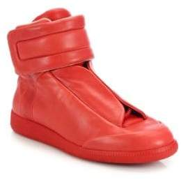 Maison Margiela Future Leather High-Top Sneaker