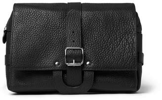 D.R. Harris D R Harris Full-Grain Leather Hanging Wash Bag