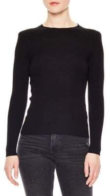 Sandro Wool-Blend Temps Sweater