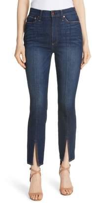 AO.LA Good High Waist Front Slit Skinny Jeans (Good Times)