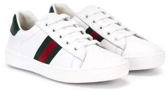 Gucci Kids Web low-top sneakers