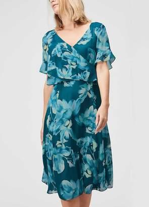 Jacques Vert Floral Printed Soft Dress